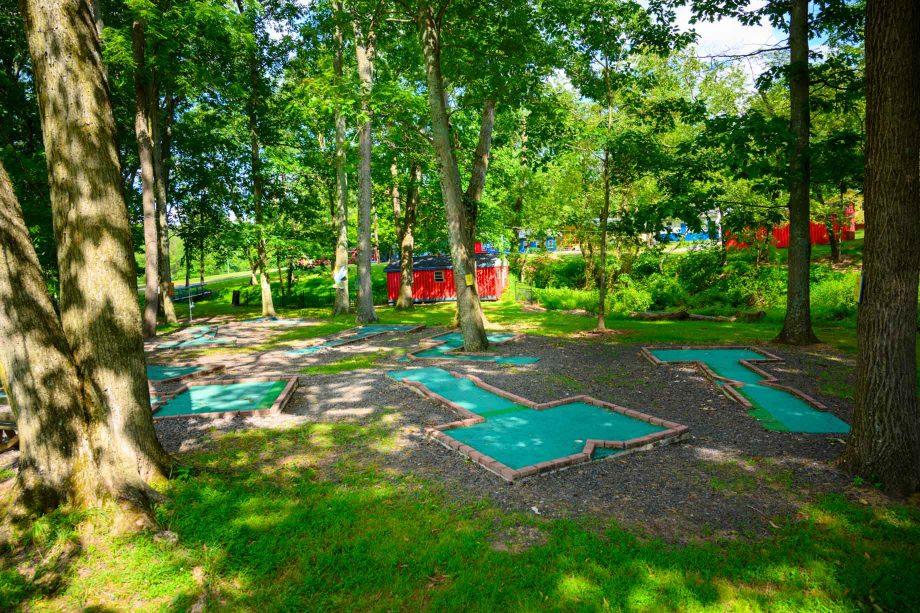 Golfing area