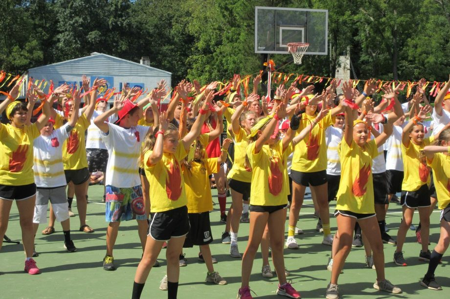 All camp dance