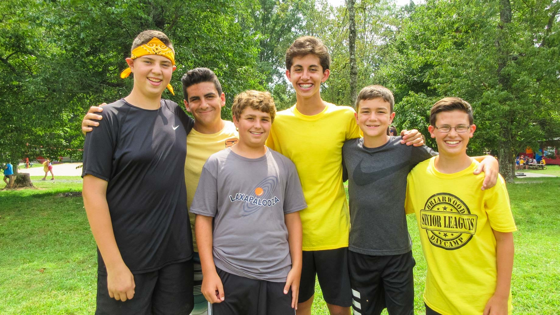 Group of male CITS