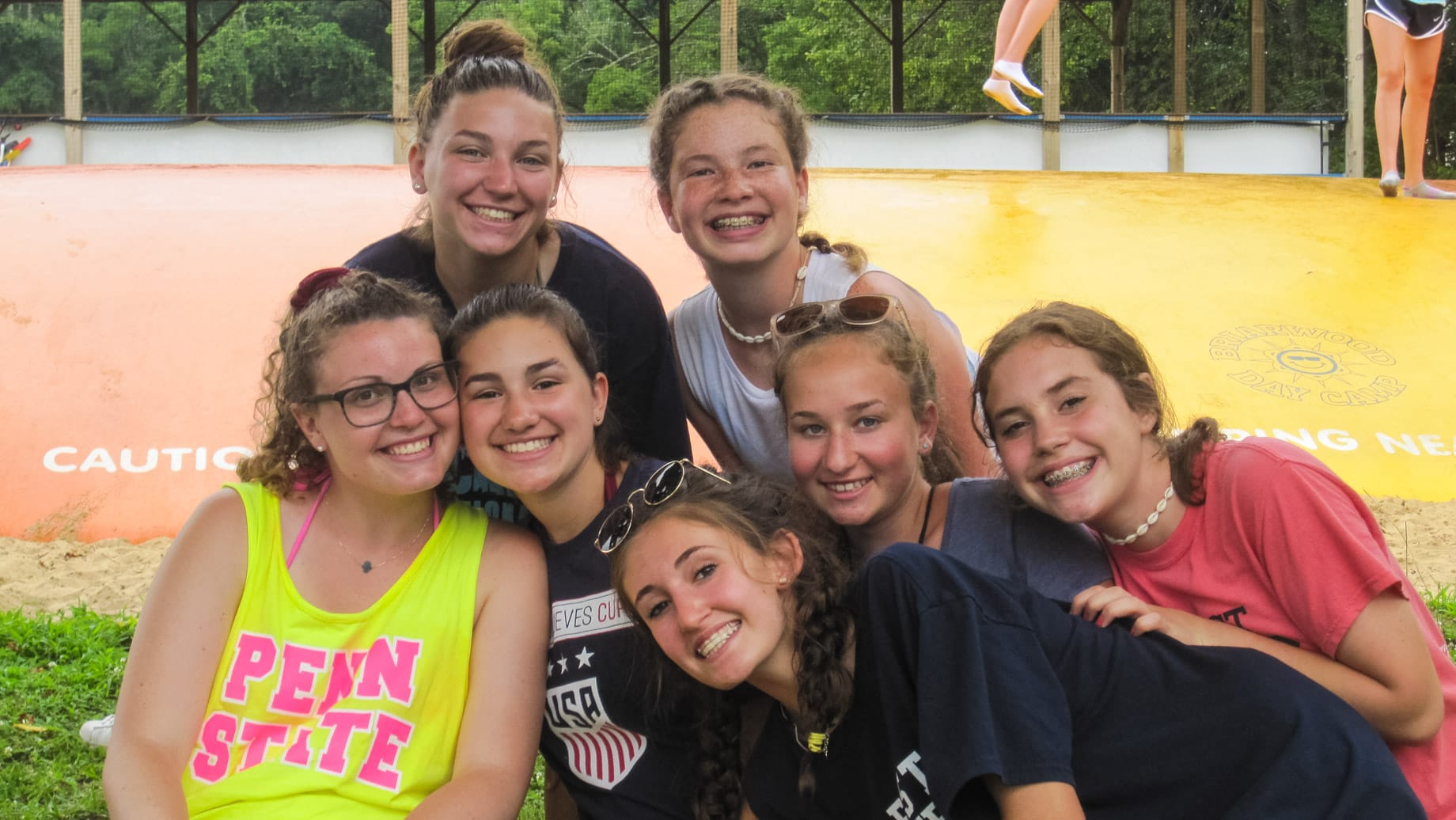 Group of female CITS